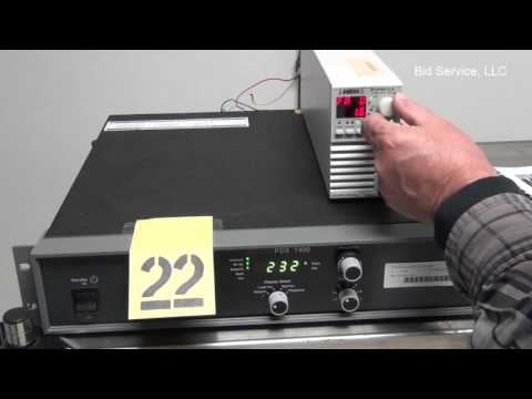 Advanced Energy PDX-1400 RF Generator #60274