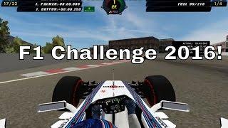 F1 Challenge 99 02 - F1 2016  Mod Gameplay+Link