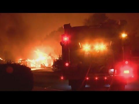 Carr Fire threatens