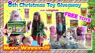 Win Free Christmas Toys For Kids! 8th Lillykat Free Toy Christmas Giveaway. Win Free Toys For Kids.