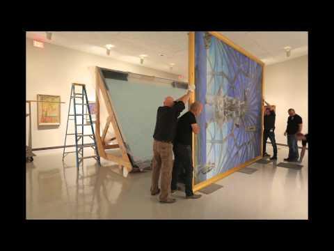 Time Lapse Installation of Dali's Santiago El Grande