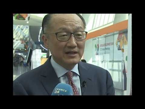 """Jim Yong Kim to France 24: """"The best investment the African people can make is in their own people"""""""