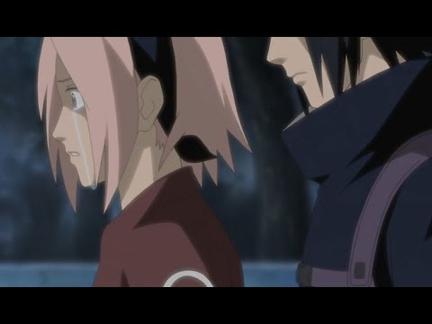 Sasuke leaves the village - YouTube