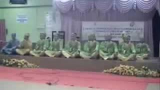 Pertandingan Dikir Barat Anti Dadah Peringkat Negeri Kedah 2009(SMK Batu 5 Johan Yang Sumbang)
