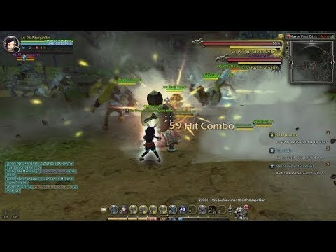 Dragon Nest Gear Master Gameplay lvl 95 | The Damage Makes Me Sad