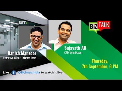 BiZ Talk with Sujayath Ali, CEO, Voonik.com