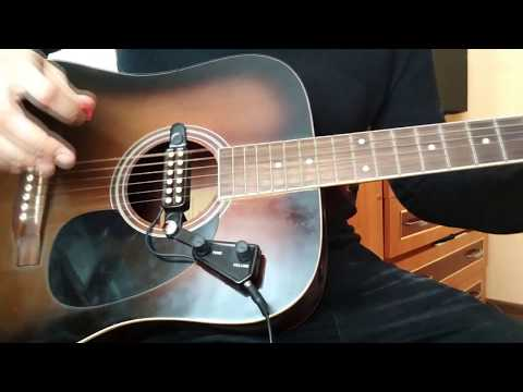 Как подключить звукосниматель для акустической гитары к компьютеру