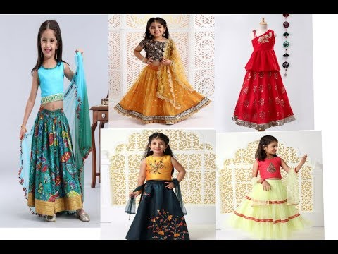 Kids lehenga choli design 2019 baby dress