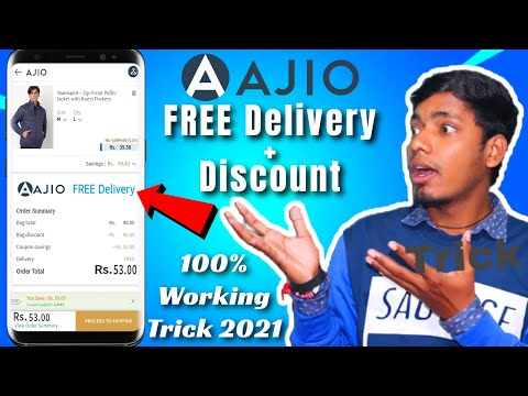 How to get FREE Delivery + Discount on AJIO 2021 – Shopping Tips and Tricks – Technodict
