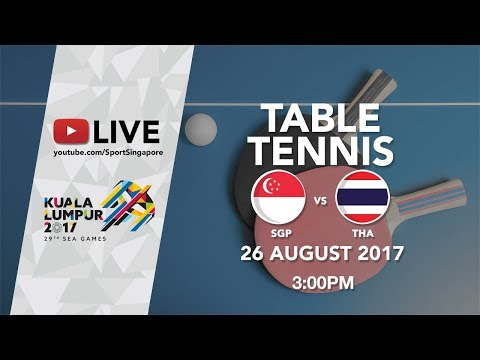 Table Tennis 🏓 Women's Team Finals Singapore 🇸🇬 vs 🇹🇭 Thailand | 29th SEA Games