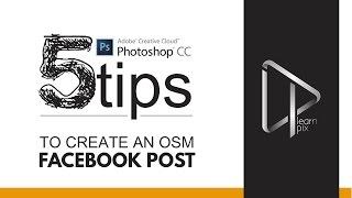2015 Adobe Photoshop CC ile facebook Post oluşturma 5 KOLAY İPUÇLARI |