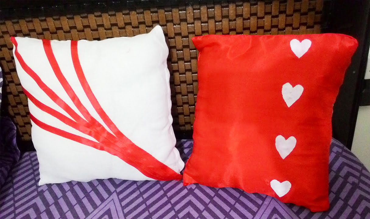 Diy Cushion Covers In 5 Minute Youtube