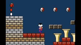 Super Mario Bros 2 - Nintendo NES - World 7 final boss - User video