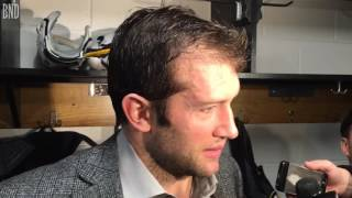 Former Blues captain David Backes makes his first back to St. Louis withthe Boston Bruins