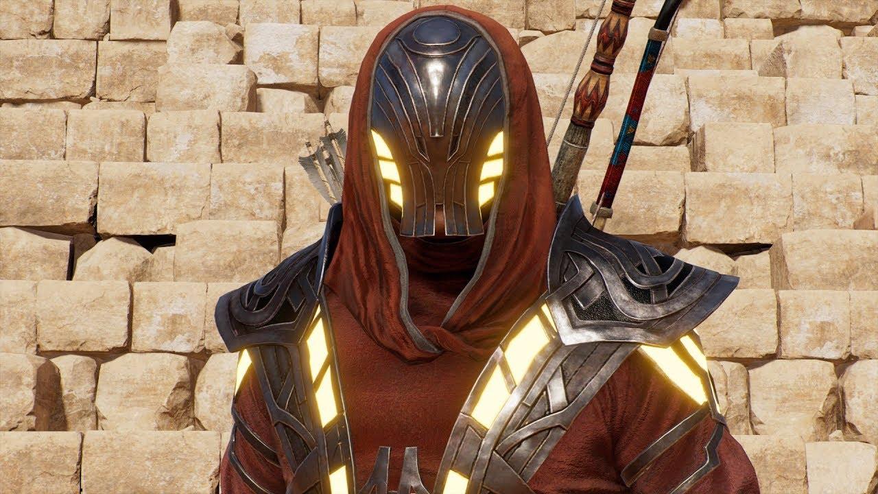 Assassinu0026#39;s Creed Origins - Isu Armor (Legendary Outfit) - Open World Free Roam Gameplay HD ...