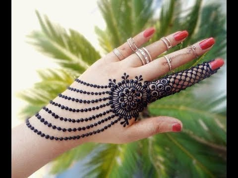 Eid Mehndi Designs Eid Special Easy Floral Mehndi Design For Hands