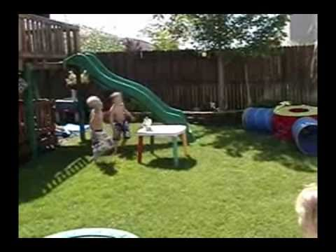 Backyard Obstacle Course for Kids