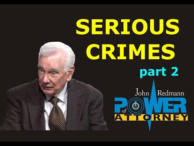 Serious Crimes, part 2