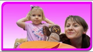 Animale surprize!!! Invatam animalele si sunetele lor  Anabella show