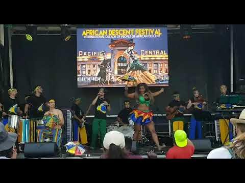 ACHÉ BRASIL - Frevo music and dance at the Afrikan Decent Festival - 2018