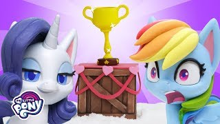 My Little Pony Stop Motion 🏆 'Snow Pony Contest' Stop Motion Short Ep. 7
