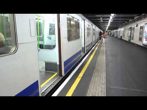 London Underground Observations at Stepney Green 16/07/13