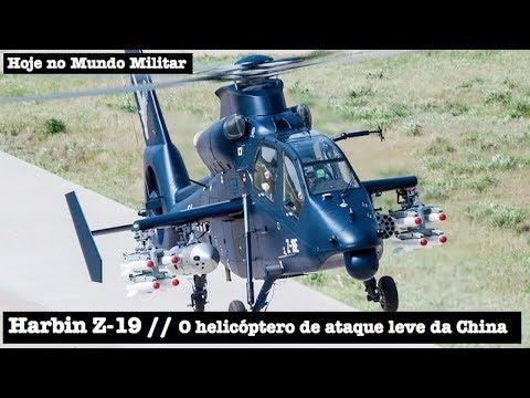 Harbin Z-19, o helicóptero de ataque leve da China