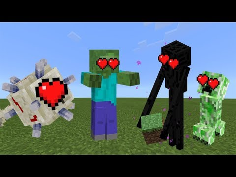 How To Tame Hostile Mobs In Minecraft Pocket Edition