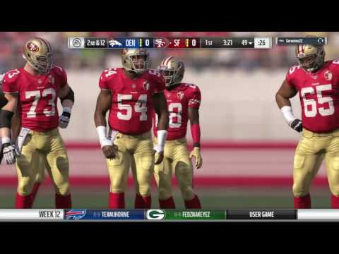 Denver vs 49ers M17 Season 3