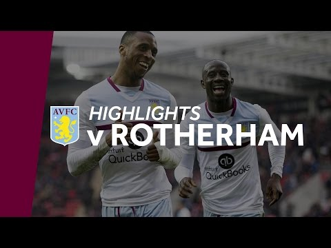 Rotherham 0-2 Aston Villa | Highlights