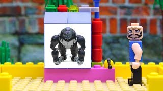 Transformers experimental Optimus Primal, Cheetor Robot Cars with Lego Champions!