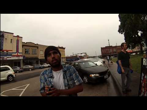 Abolitionist interviewed by Denton Record Chronicle in Denton Texas