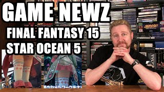 FINAL FANTASY XV and STAR OCEAN 5 release dates and Censorship - Happy Console Gamer