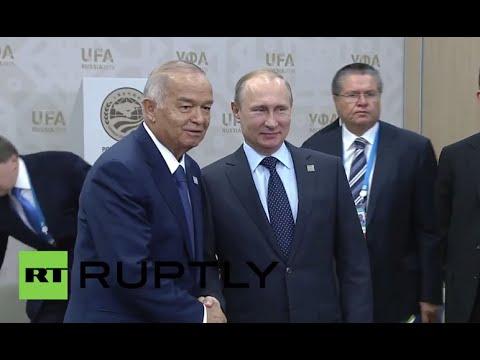 Russia: Putin invites Uzbek President Karimov for official state visit