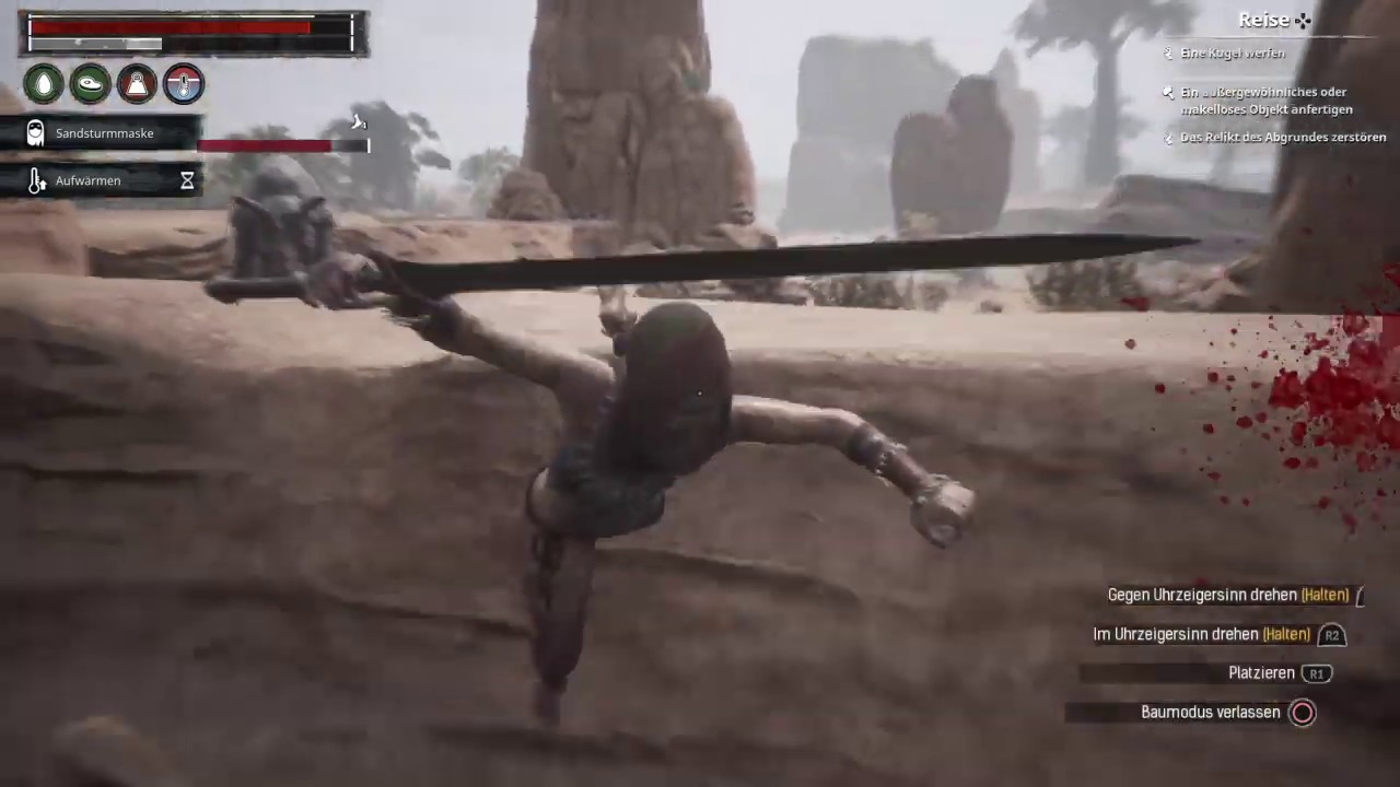 Conan Exiles - I believe I can fly
