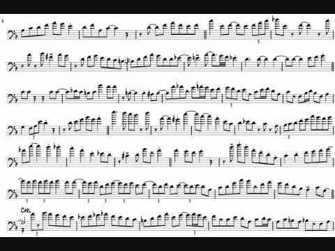 Carl Fontana & Bill Watrous 'If You Were The Only Girl In The World' Trombone Solos Transcription