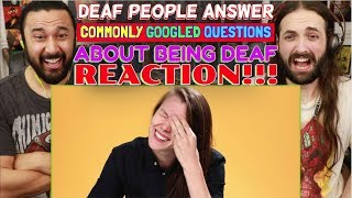 Download lagu Deaf People Answer Commonly Googled Questions About Being Deaf - REACTION!!!