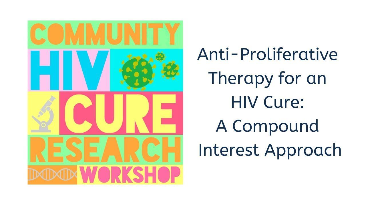 2019 COMMUNITY HIV CURE RESEARCH WORKSHOP - JOSH SCHIFFER