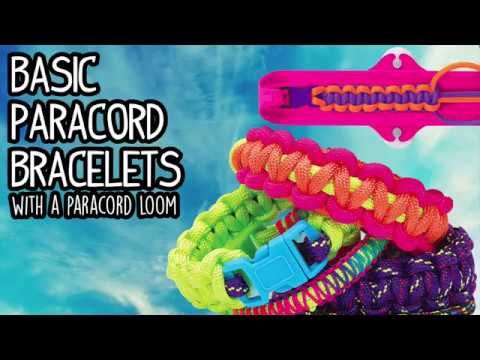 Paracord Loom Basic Paracord Bracelet Youtube