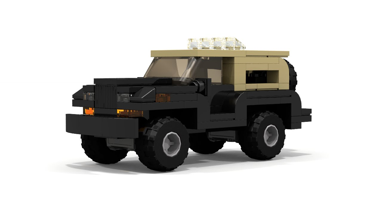 Lego Jeep Wrangler 4x4 Car Instructions Youtube