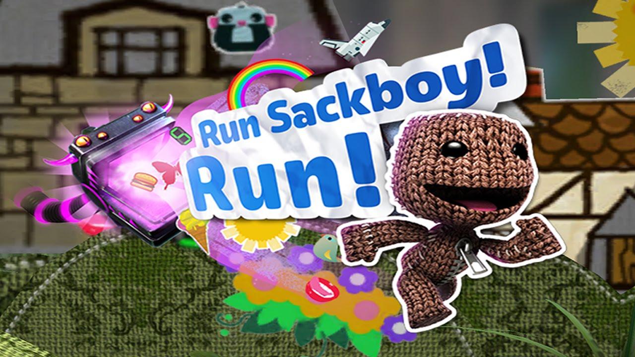Resultado de imagem para Run Sackboy! Run!