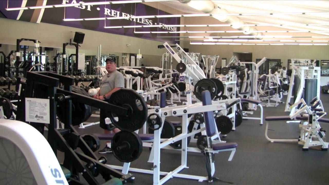 Baltimore Ravens Training Camp Strength Training Session