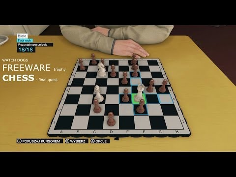 Watch Dogs - Chess final quest 10/10, Freeware trophy / achi