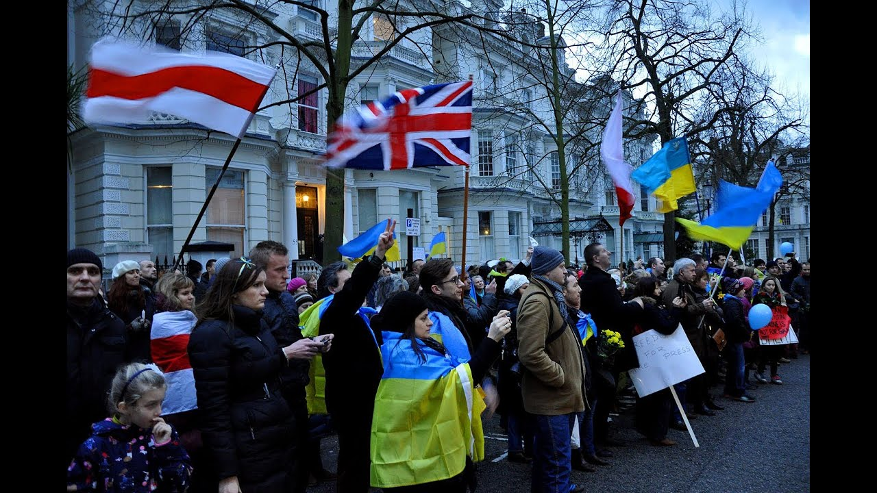 loading russian embassy london russian