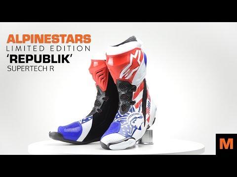 Alpinestars Limited Edition 'Republik' Supertech R - Motorkledingstore.nl