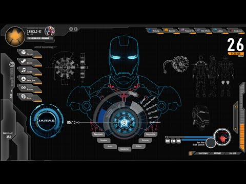 How to Install The Jarvis (Iron Man) Theme...