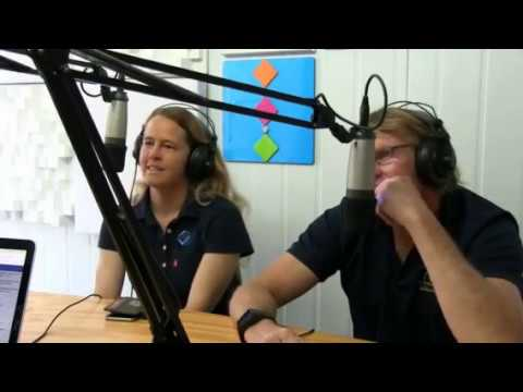Big Wave Surfer Tammy-Lee Smith on the 88FM Morning Show