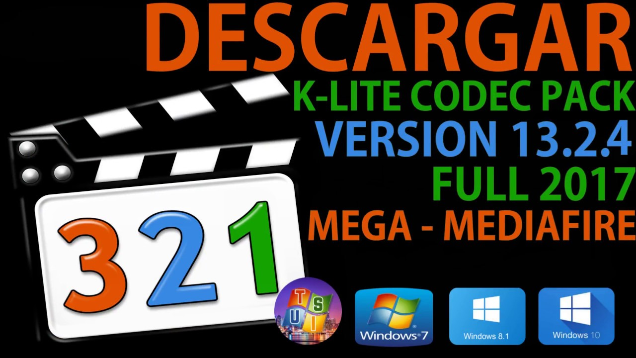 K-lite mega codec pack download.