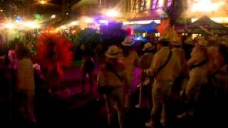 Supersonic Samba School at Mardi Gras downtown San Diego 2012