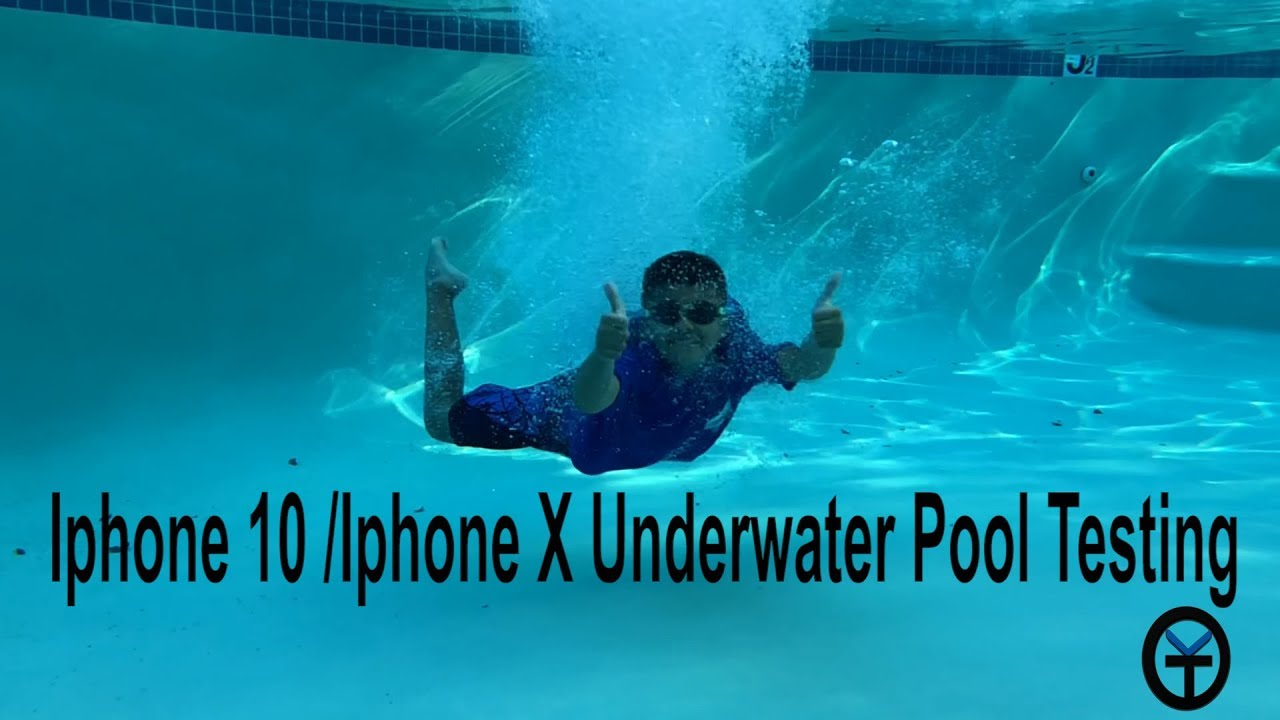 best sneakers a3efa e0988 @Apple Iphone X 10 Underwater Pool Testing The IP67 Water Resistance